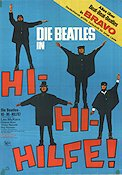 Hi-Hi-Hilfe Poster 64x85cm Germany GD-FN small tape original