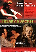 Hilary and Jackie 1998 poster Emily Watson