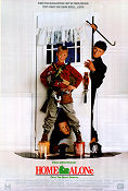 Home Alone 1990 poster Macaulay Culkin Chris Columbus