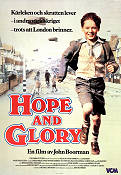 Hope and Glory 1987 Filmaffisch Sarah Miles John Boorman