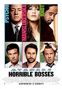 Horrible Bosses 2011 poster Jason Bateman Seth Gordon