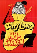 Hösäcken 1957 poster Jerry Lewis George Marshall