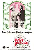 Hotel Paradiso 1966 poster Alec Guinness