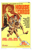 House of Cards 1969 poster George Peppard John Guillermin