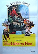 Huckleberry Finn 1975 poster Jeff East