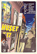 Huset nr 17 1949 poster Edvard Persson