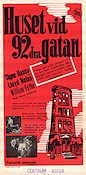 Huset vid 92a gatan 1945 poster Signe Hasso