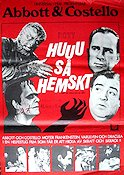 Huuu så hemskt 1948 poster Abbott and Costello