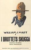 I brottets skugga 1920 poster Ann Little William S Hart