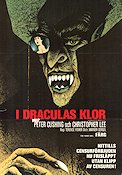 I Draculas klor 1958 poster Peter Cushing Terence Fischer