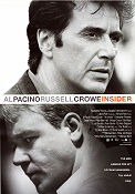 The Insider 1999 poster Al Pacino