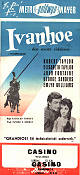 Ivanhoe 1952 poster Robert Taylor Richard Thorpe