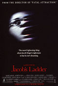 Jacob´s Ladder 1990 poster Tim Robbins Adrian Lyne