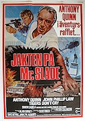 Jakten på Mr Slade 1982 poster Anthony Quinn