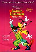 Janne Långben the Movie 1994 poster Långben