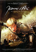 Jeanne d'Arc 1999 poster Milla Jovovich Luc Besson