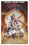 Jewel of the Nile Poster 68x102cm USA FN original