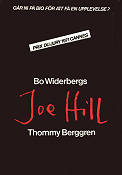 Joe Hill Poster 70x100cm FN original