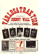 Johnny Wall Vita Leoparden 1939 affisch Johnny Wall