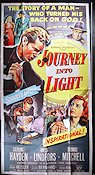 Journey Into Light Poster USA 102x204 3-sheet small piece missing original