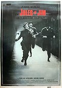 Jules et Jim Poster reproduction RO 67x97