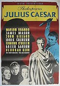 Filmaffischer William Shakespeare Julius Caesar 1953