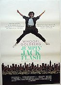 Jumpin' Jack Flash 1986 poster Whoopi Goldberg