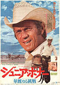 Junior Bonner 1972 poster Steve McQueen Sam Peckinpah