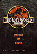 Jurassic Park The Lost World Poster 68x102cm USA RO original