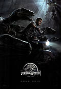 Jurassic World 2015 poster Chris Pratt
