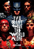 Justice League 2017 poster Ben Affleck Zack Snyder
