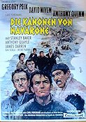Kanonerna på Navarone 1961 poster Gregory Peck J Lee Thompson