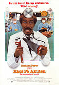 Kaos på akuten 1986 poster Richard Pryor
