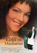 Kärlek på Manhattan 1988 poster Amy Irving