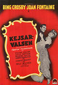 Kejsarvalsen 1948 poster Bing Crosby Billy Wilder