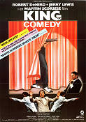 The King of Comedy 1981 poster Robert De Niro Martin Scorsese