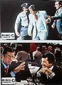 The King of Comedy 1981 lobbykort Robert De Niro Martin Scorsese