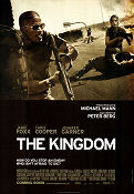 The Kingdom 2007 poster Jamie Foxx Peter Berg