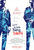 Kiss Kiss Bang Bang 2005 poster Robert Downey Jr
