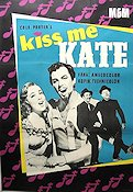 Kiss Me Kate 1954 poster Kathryn Grayson