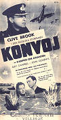Konvoj 1940 poster Clive Brook Pen Tennyson