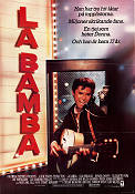 La Bamba 1987 poster Lou Diamond Phillips