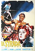 La Strada Poster reproduction RO 68x98