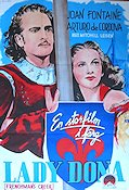 Lady Dona 1944 poster Joan Fontaine