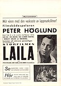 Laila 1937 poster Aino Taube George Schneevoigt