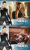 Lara Croft Tomb Raider Lobbykort USA 11x14 NM original