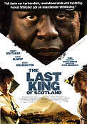 The Last King of Scotland 2006 poster James McAvoy Kevin Macdonald