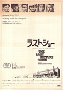 The Last Picture Show 1972 poster Cybill Shepherd Peter Bogdanovich