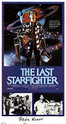 The Last Starfighter 1983 poster Lance Guest Nick Castle
