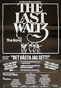 The Last Waltz 1979 poster The Band Martin Scorsese
